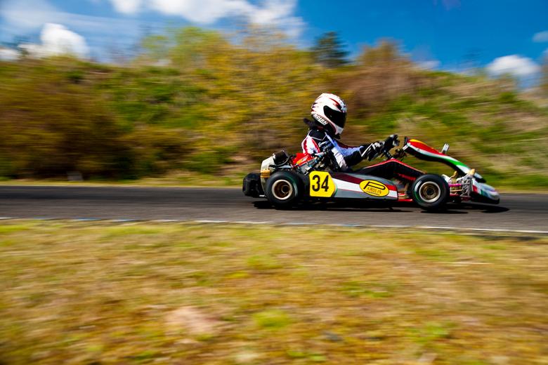VT250 kart - Een VT250 kart tijdens het GK4 kampioenschap op Circuit Park Berghem