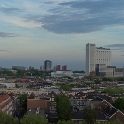 View over Rotterdam