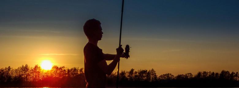 Fishing by sunset - Fishing by sunset