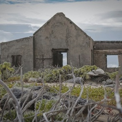 Bij de vuurtoren van Bonaire