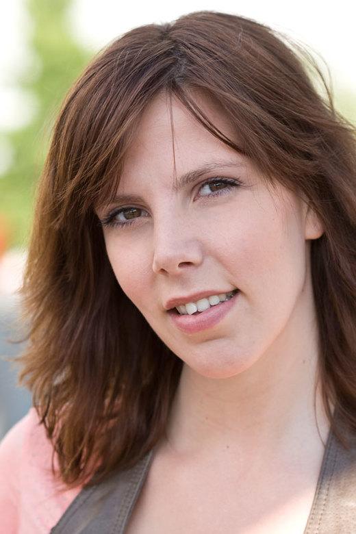 Meike I - Naast springen hebben we ook wat portretfoto's gemaakt met Meike.