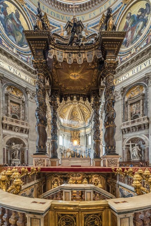 St Pieters graf Bernini