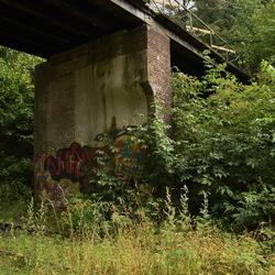 de oude spoorlijn