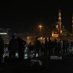Galata koprusu en New Mosque