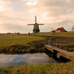 Molen in Volendam 2