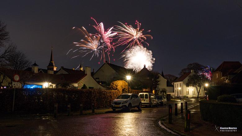 Vuurwerk 2018!... Gelukkig Nieuwjaar!