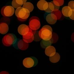 All those pretty christmas lights