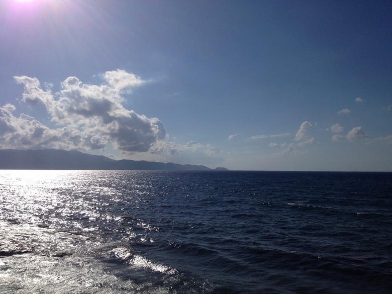 Aan zee in heraklion -