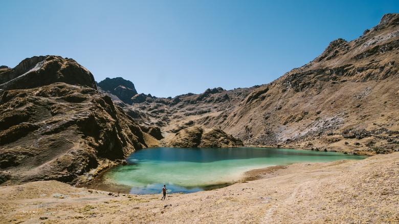Andean lake - Ontdekken van prachtige meren in het Andes gebergte.<br /> <br /> Voor meer foto&#039;s:<br /> https://www.facebook.com/ShotByCanipel