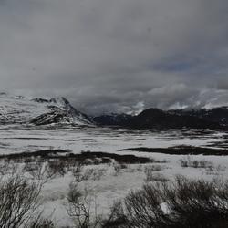 Winter maakt plaats voor voorjaar in Jotunheimen