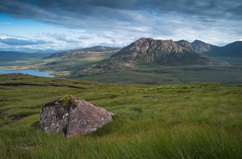 Empty Landscape - Wandeling naar de top van de Stac Pollaidh (noorden van Schotland).