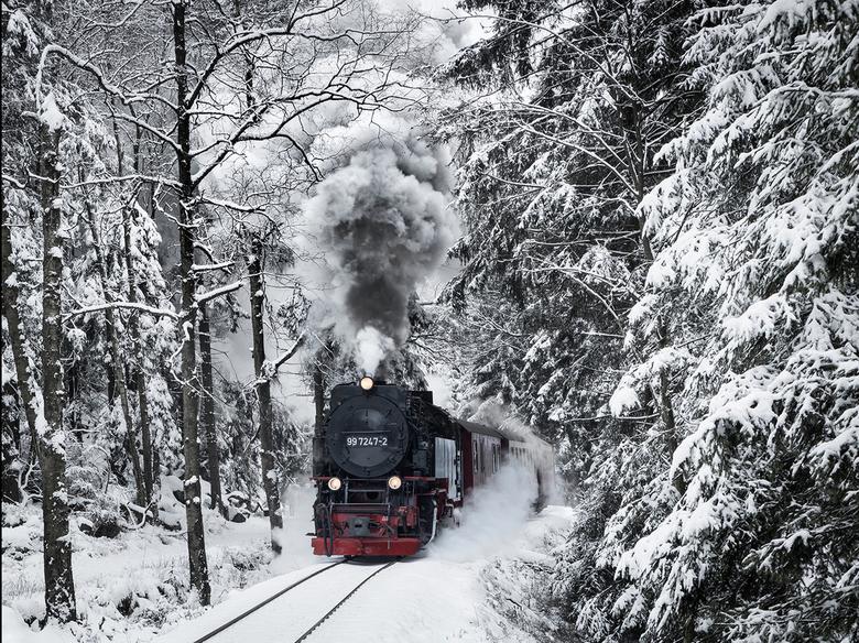 On a Cold Winter's day - Afgelopen Zondag sprong ik in de auto en reed 4,5 uur naar de Harz in Duitsland. Ik wilde in een dag heen en weer om een vlog
