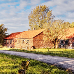 Mooi oud boerderijtje