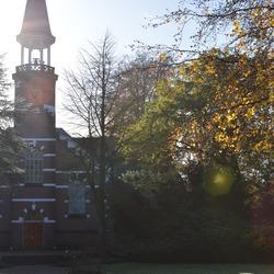 Kerkje op landgoed Veldwijk
