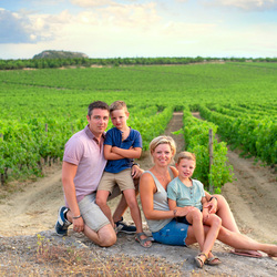 Wijngaard familie portret