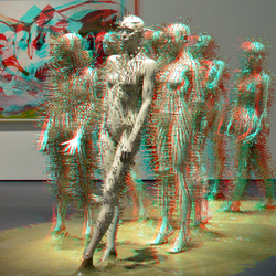 Clous-mannequins in Kunsthal 3D