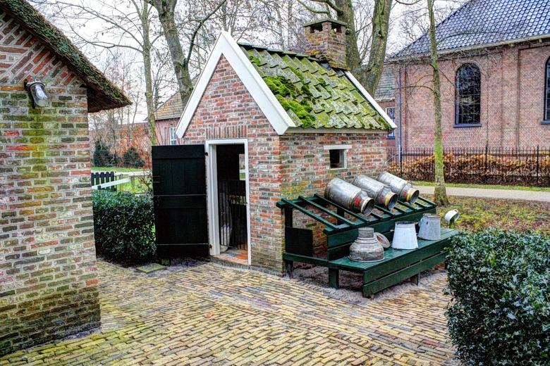 Stookhok in Giethoorn