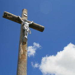 Jezus a st. Vincent sur Jard