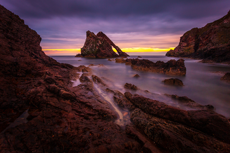 Bow fiddle rock  -