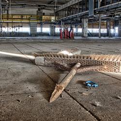 Urbex verlaten fabriek 4