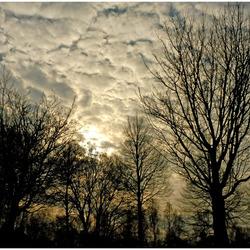 Wolkendeken ...