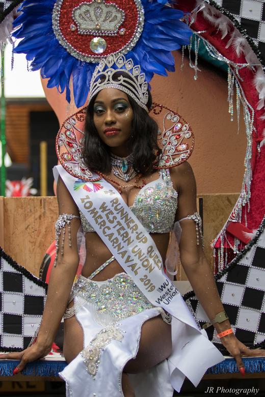 Zomercanaval - Runner up Queen van het zomercarnaval<br /> in Rotterdam