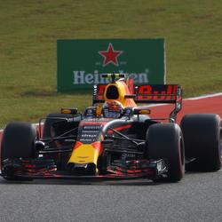 Max Verstappen Formule 1 Austin 2017