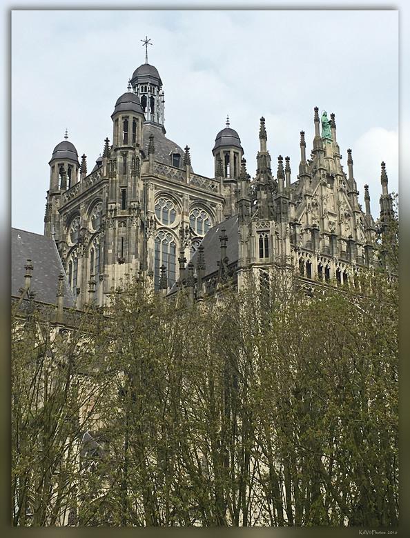 Sint Janskathedraal  - De Kathedrale Basiliek van Sint Jan Evangelist, gewoonlijk aangeduid als de Sint-Janskathedraal, in de binnenstad van 's-H