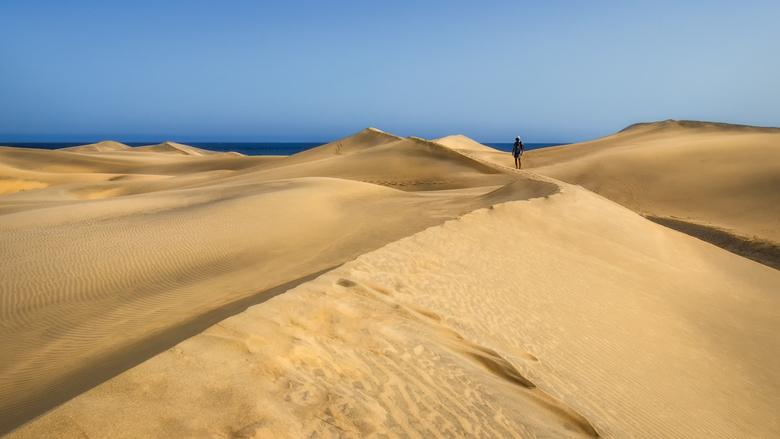Desert - We zijn al weer een tijdje terug  van Gran Canaria, maar ik wil jullie nog graag een aantal foto's laten zien van de mooie natuur op dit eila