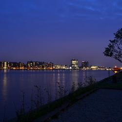Avondopname IJ, Amsterdam