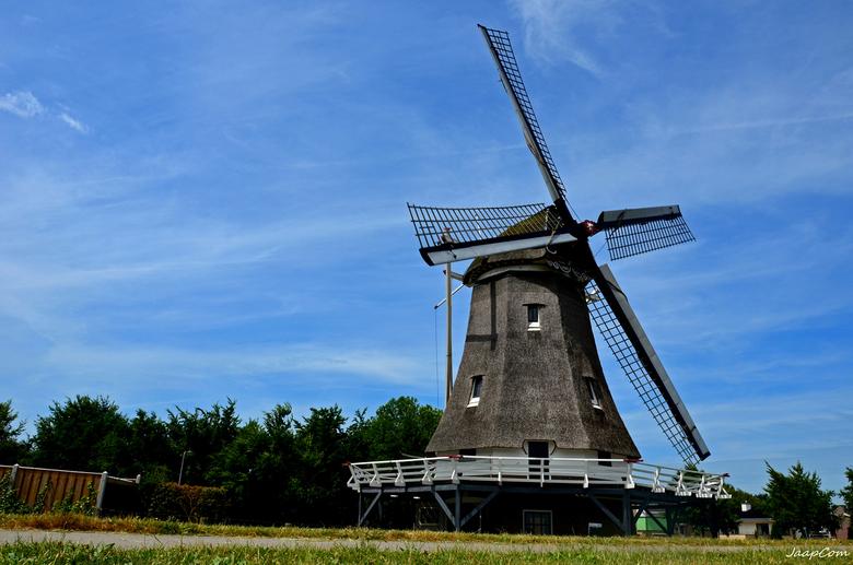 Kampen Olde Zwarver 1842 - Deze foto genomen van af de dijk in kampen