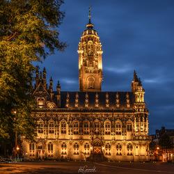 Sprookjesachtig Stadhuis van Middelburg.