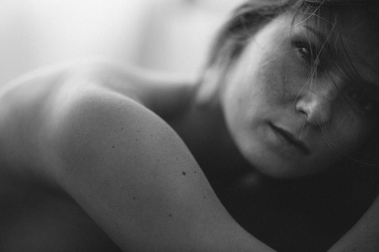 Pure - Geen enkele bewerking in deze foto!<br /> Als ik shoot, shoot ik heel af en toe in zwart wit. Ik sla dan mijn foto&#039;s op CF (Raw) en SD (J