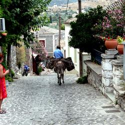 het vervoer in Griekenland