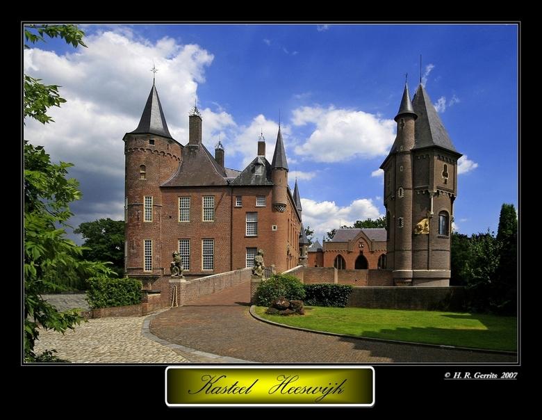 Kasteel Heeswijk  3 - Kasteel Heeswijk <br /> Enigszins verscholen in het bosrijke Brabantse land tussen &#039;s-Hertogenbosch en Eindhoven, ligt het