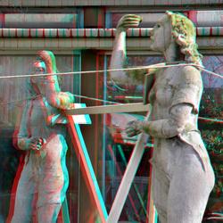 Sculptures restoration Rivierahal Blijdorp Zoo Rotterdam 3D