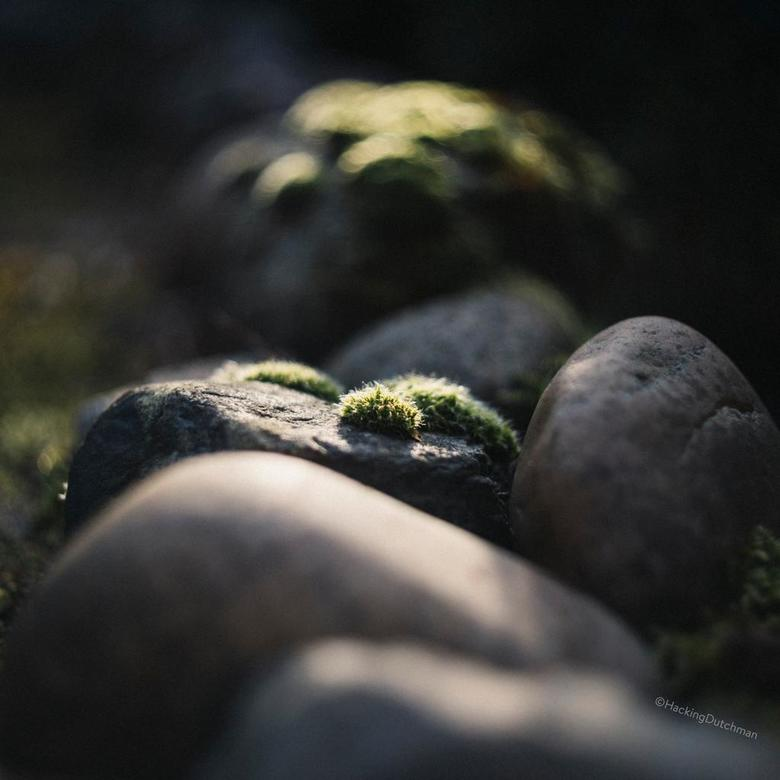 Heuvels - Stenen met mos erop.<br /> <br /> <br /> <br /> ©MotionMan 2020