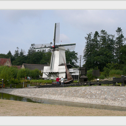 Openlucht museum molen