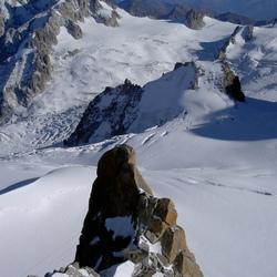 Prachtig berglandschap in Chamonix