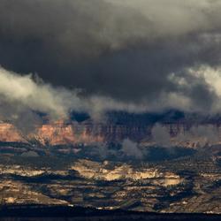 Een Ufo boven de Bryce Canyon?