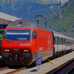SBB Regio Express in Visp