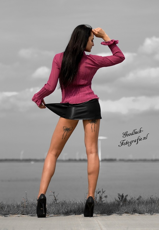 Legs on high heels - Model Klaudia<br />