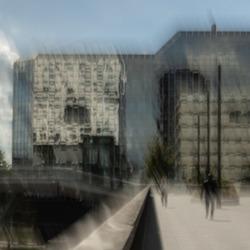 Utrecht, bij de Rabo bank