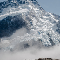 A view on the Ngakanohi glacier.