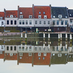 Hoog water in de haven