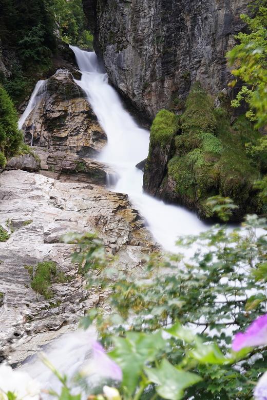 Waterval Bad Gastein - De waterval in Bad Gastein, Oostenrijk. Genomen in de zomer van 2018.