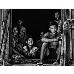 Cambodjaans gezin Kratie