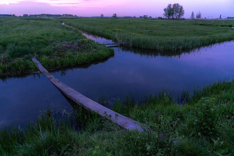 Polderlandschap - Polderlandschap bij Eemdijk