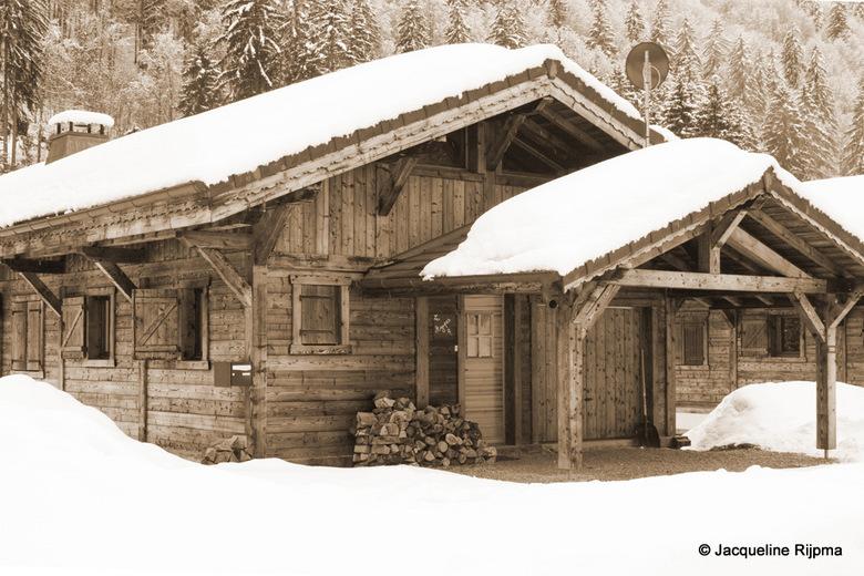 Chalet - Chalet in de sneeuw