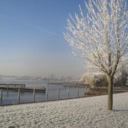 Winter op de Kaag
